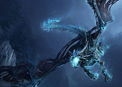 fantasy, World of Warcraft, sindragosa, artwork, 3D - related desktop wallpaper