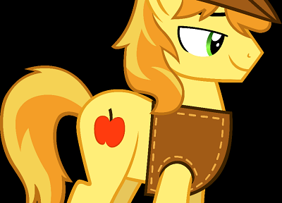 My Little Pony, Braeburn - desktop wallpaper