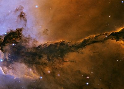 outer space, stars, nebulae, Eagle nebula - random desktop wallpaper