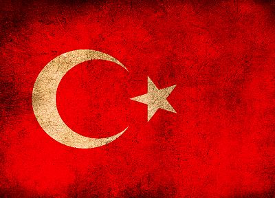 flags, Turkey - desktop wallpaper