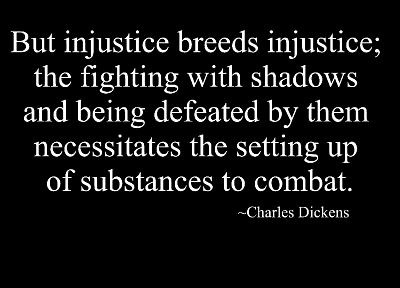 text, quotes, black background, Charles Dickens - random desktop wallpaper