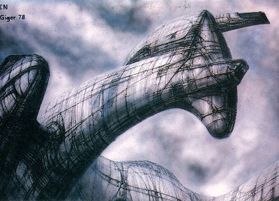 HR Giger, artwork, Alien - related desktop wallpaper