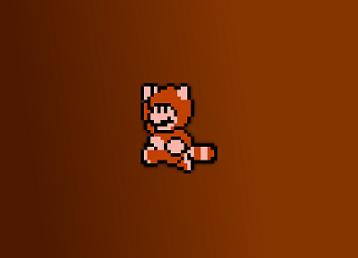 Super Mario, sprites, Super Mario Bros. 3, Tanooki suit - desktop wallpaper