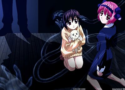 Elfen Lied, anime girls - random desktop wallpaper