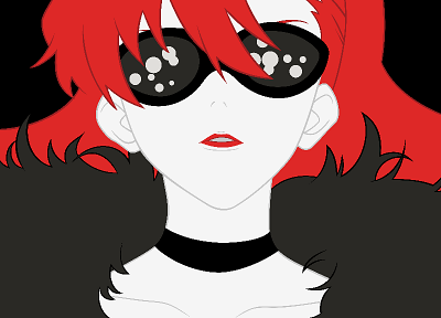 redheads, Tengen Toppa Gurren Lagann, transparent, Littner Yoko, anime vectors - related desktop wallpaper