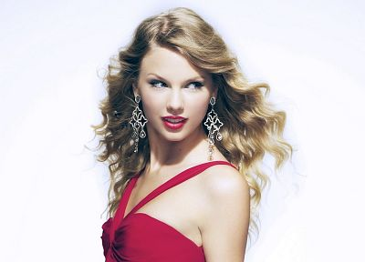 blondes, women, Taylor Swift, celebrity, simple background - related desktop wallpaper