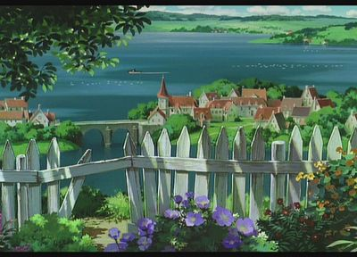 Studio Ghibli, Kiki's Delivery Service - desktop wallpaper