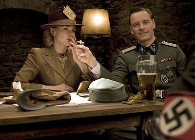 Nazi, Inglorious Basterds, Michael Fassbender - desktop wallpaper