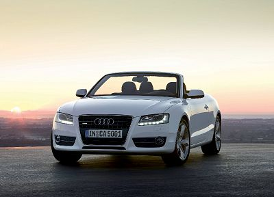 cars, Audi, Audi A5 Cabriolet, German cars - related desktop wallpaper