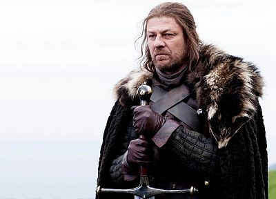 Game of Thrones, A Song of Ice and Fire, Sean Bean, TV series, Eddard 'Ned' Stark, swords, House Stark - related desktop wallpaper