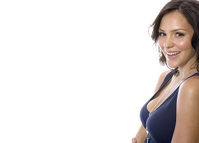 women, models, Katharine McPhee, smiling - related desktop wallpaper