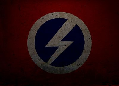 flags, fascism - random desktop wallpaper