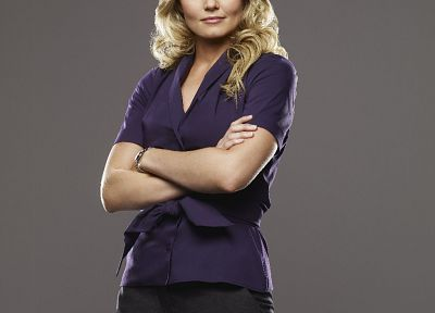 women, Jennifer Morrison, simple background - desktop wallpaper