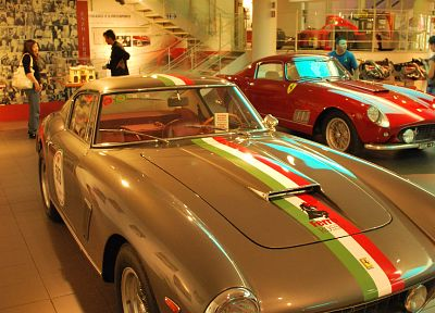 cars, Ferrari, Italy, vehicles, Ferrari museum, racing cars - desktop wallpaper