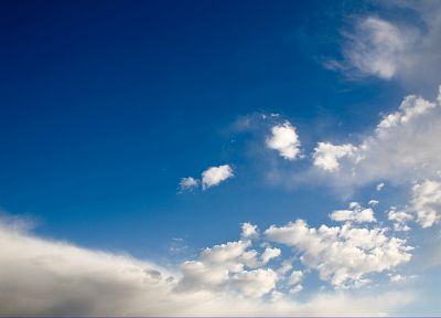 blue, clouds, skyscapes - desktop wallpaper