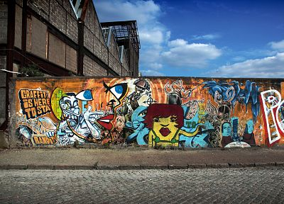 wall, graffiti, street art - related desktop wallpaper