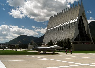 architecture, air force, art deco, usafa - desktop wallpaper
