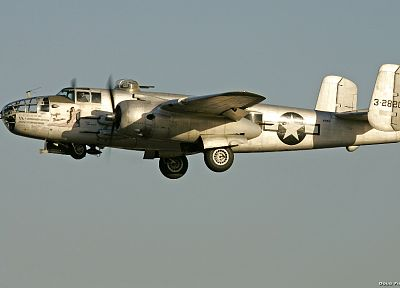airplanes, bomber, B-25 Mitchell - related desktop wallpaper