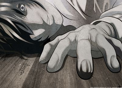 Death Note, anime - desktop wallpaper