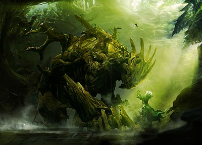video games, nature, Guild Wars, artwork - related desktop wallpaper