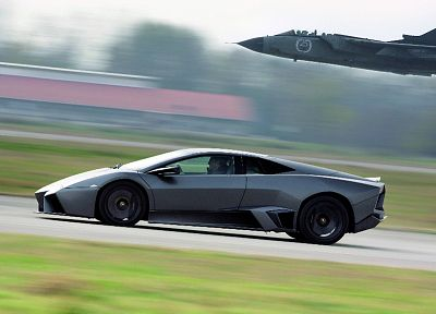 aircraft, cars, Lamborghini - random desktop wallpaper