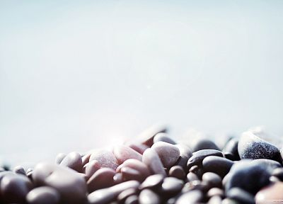nature, stones, sunlight, pebbles - related desktop wallpaper