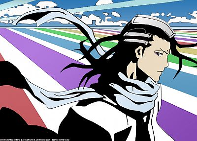 Bleach, vectors, Kuchiki Byakuya - related desktop wallpaper