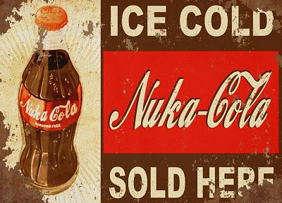 video games, Fallout, Nuka Cola Quantum - random desktop wallpaper