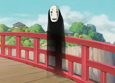 Spirited Away, no face - newest desktop wallpaper