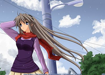 Clannad, Sakagami Tomoyo, Clannad After Story - related desktop wallpaper