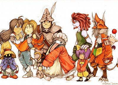 Final Fantasy IX - desktop wallpaper
