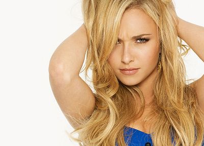 blondes, women, actress, Hayden Panettiere, celebrity - related desktop wallpaper