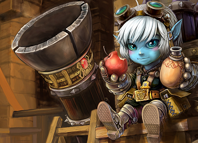 League of Legends, Tristana - random desktop wallpaper
