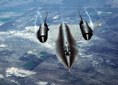 SR-71 Blackbird, jet aircraft - related desktop wallpaper