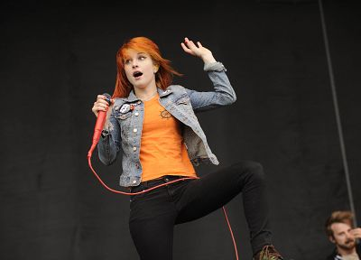 Hayley Williams, Paramore, women, music, redheads, celebrity, singers - related desktop wallpaper