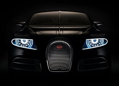 black, Bugatti Veyron, Bugatti - related desktop wallpaper