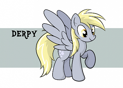 My Little Pony, Derpy Hooves - related desktop wallpaper