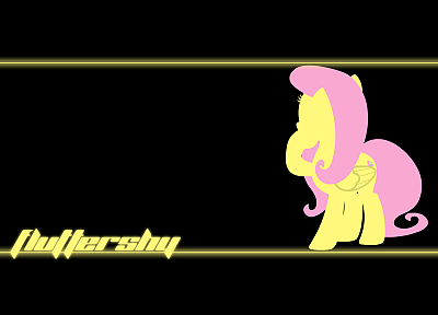 My Little Pony, Fluttershy - random desktop wallpaper