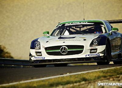cars, circuits, carrera, racer, Mercedes-Benz SLS AMG - random desktop wallpaper