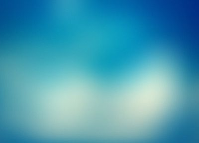 blue, minimalistic, gaussian blur - desktop wallpaper