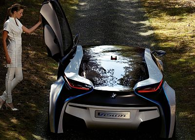 BMW, cars, concept cars - desktop wallpaper