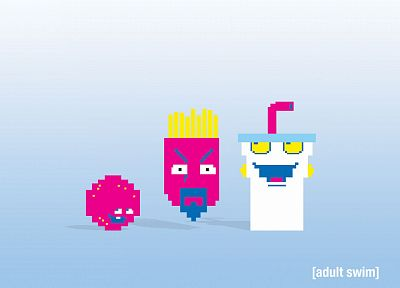 Aqua Teen Hunger Force, adult swim - duplicate desktop wallpaper
