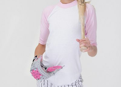 blondes, women, Francesca Facella, X-Art magazine, baseball bats - random desktop wallpaper
