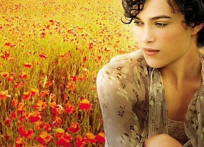 women, actress, Keira Knightley, Atonement - desktop wallpaper