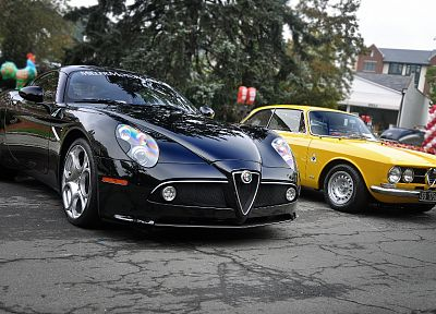 cars, Alfa Romeo - random desktop wallpaper