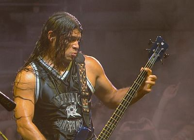 music, Metallica, Robert Trujillo - desktop wallpaper