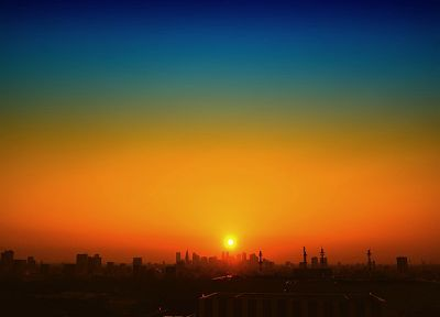 sunset, landscapes, cityscapes - random desktop wallpaper