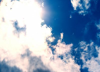 clouds, Sun, skyscapes - random desktop wallpaper