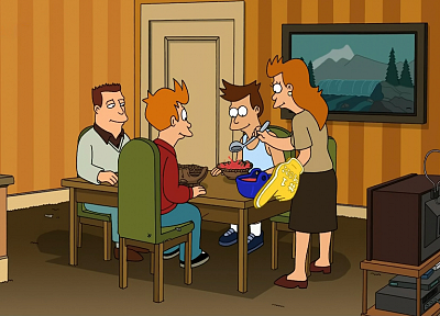 Futurama, screenshots, Philip J. Fry - desktop wallpaper