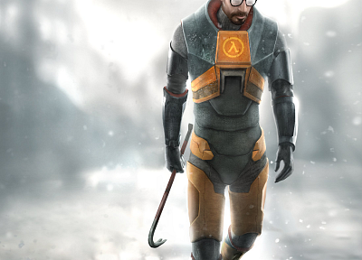 Gordon Freeman, Half-Life 2 - related desktop wallpaper